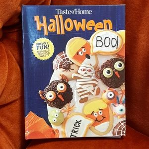 Taste of Home Halloween Cookbook